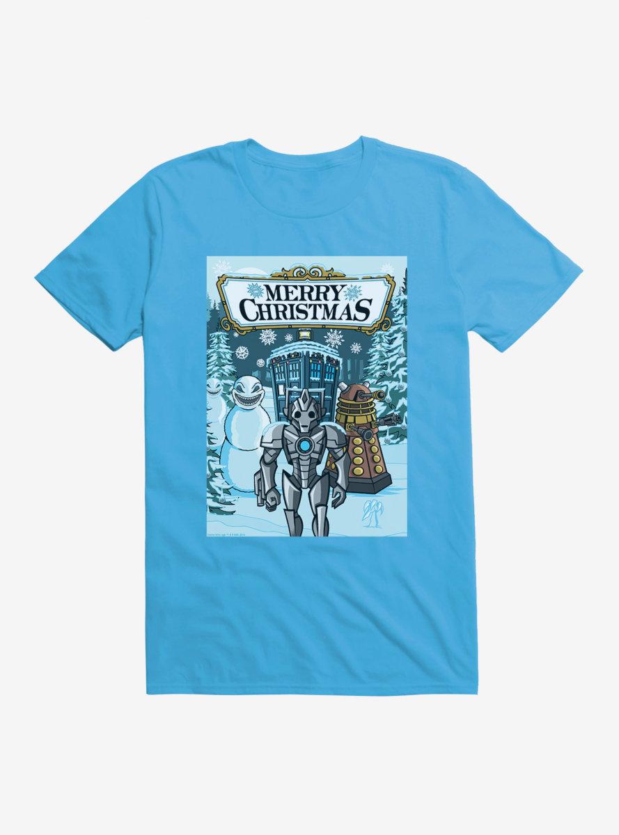 Doctor Who Merry Christmas T-Shirt