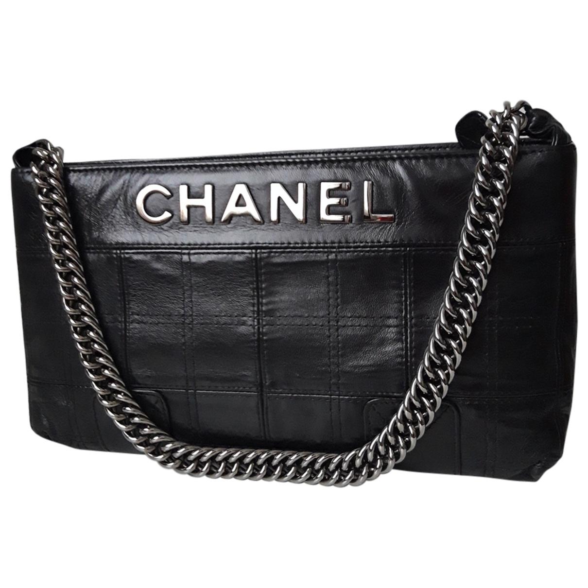 Bolso baguette de Cuero Chanel