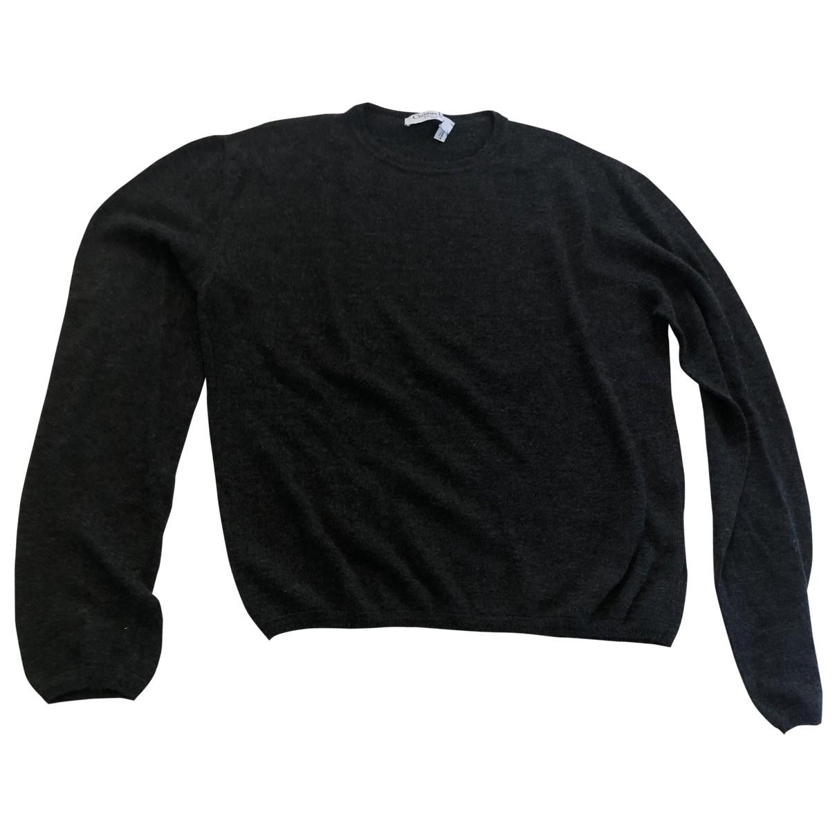 Dior \N Pullover in  Grau Kaschmir