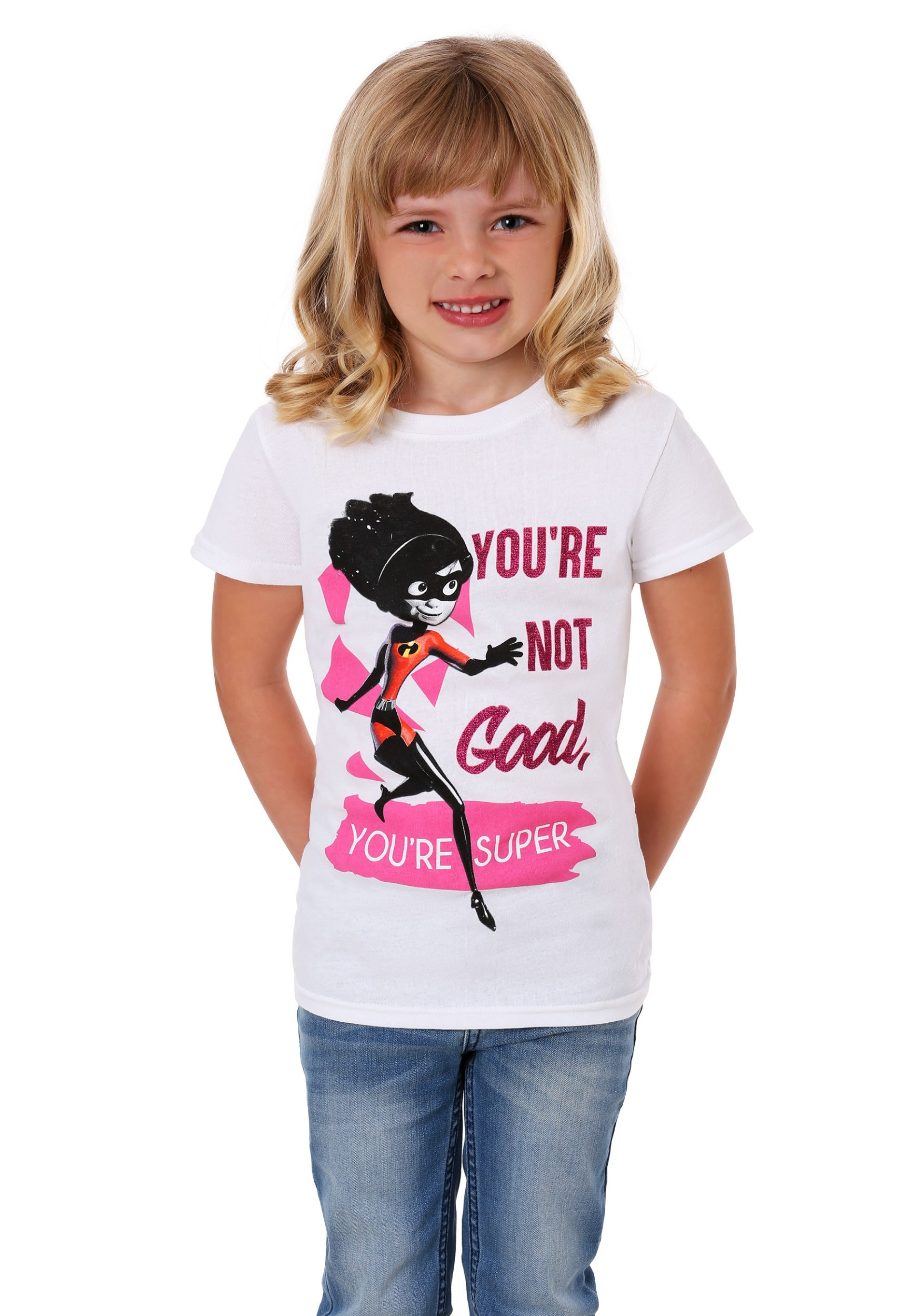 Kids Incredibles Violet Be Your Own Superhero Girl's T-Shirt