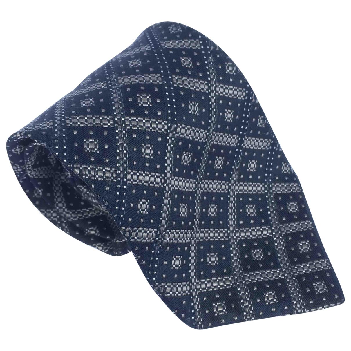 Kenzo \N Krawatten in  Anthrazit Seide