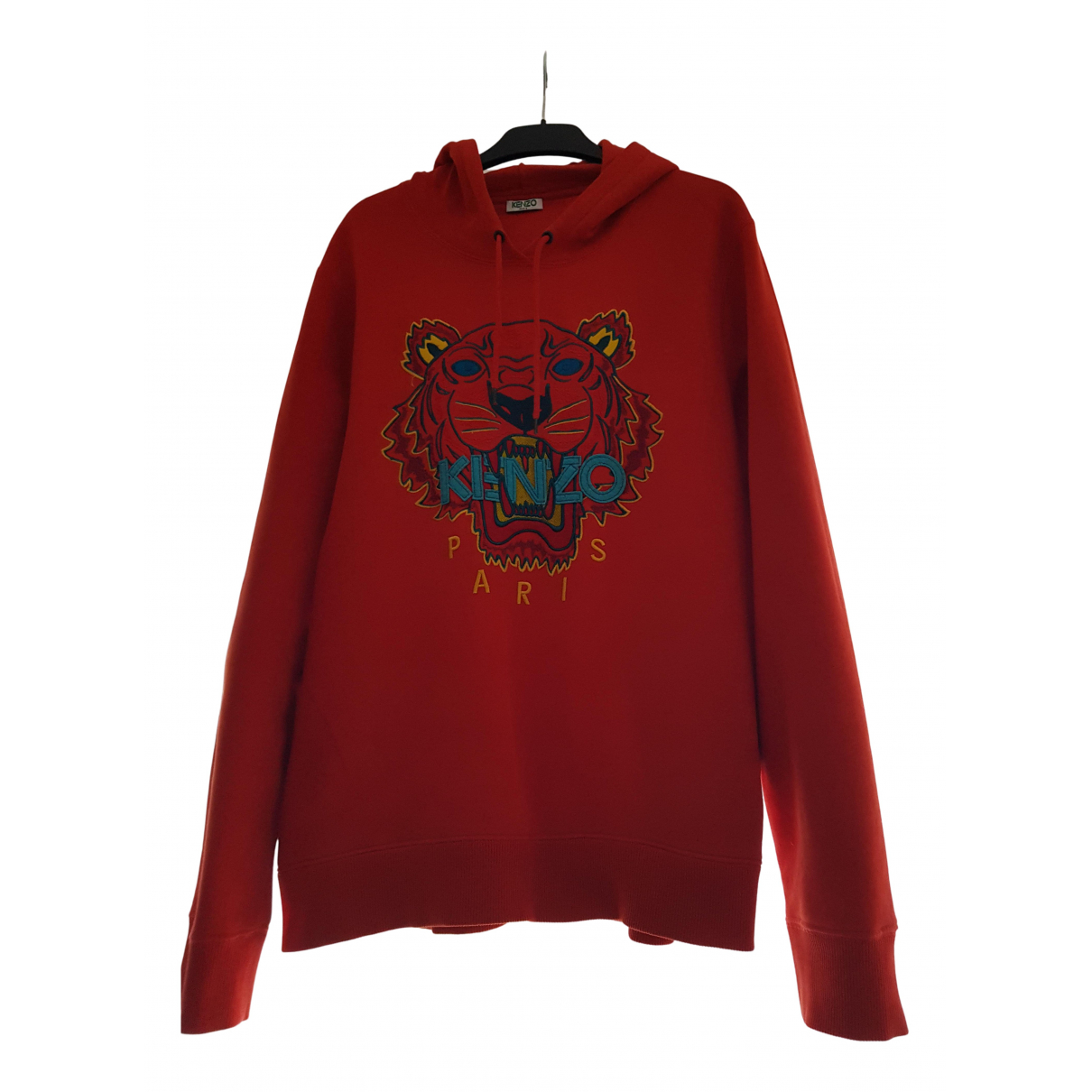 Kenzo - Pull   pour femme en coton - rouge