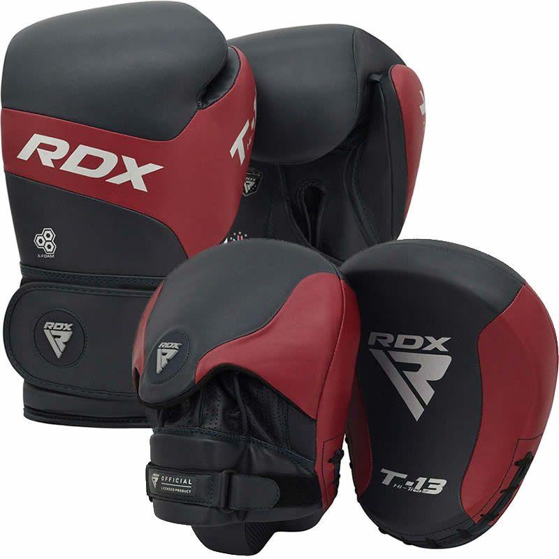 RDX T13 Boxhandschuhe and Boxpratzen 10oz