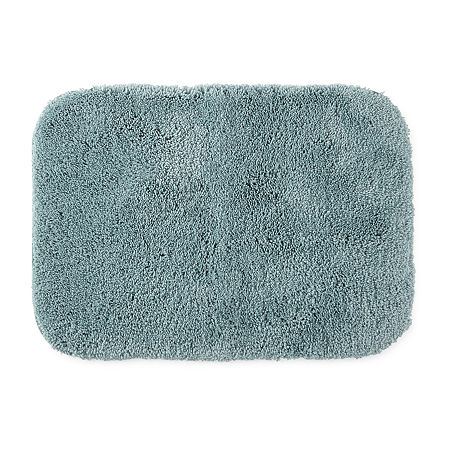 JCPenney Home Ultima Bath Rug Collection, One Size , Blue