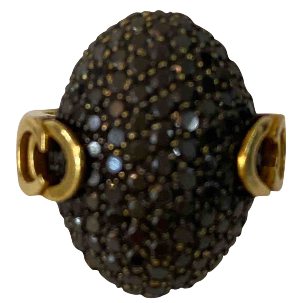 Chimento \N Ring in  Schwarz Gelbgold