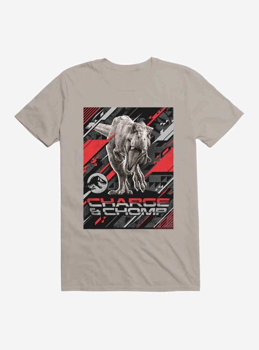 Jurassic World Charge And Chomp T-Shirt
