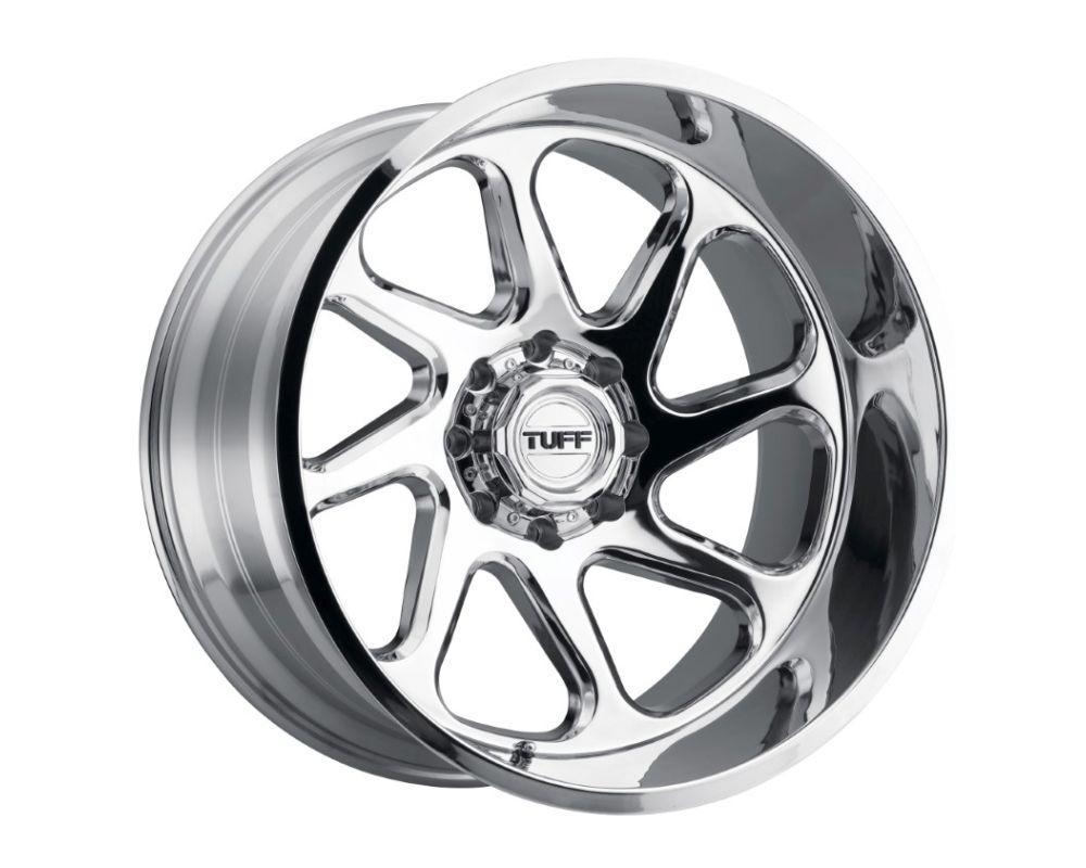 TUFF T2B Wheel 26x14 5x127|5x5 -72mm Chrome