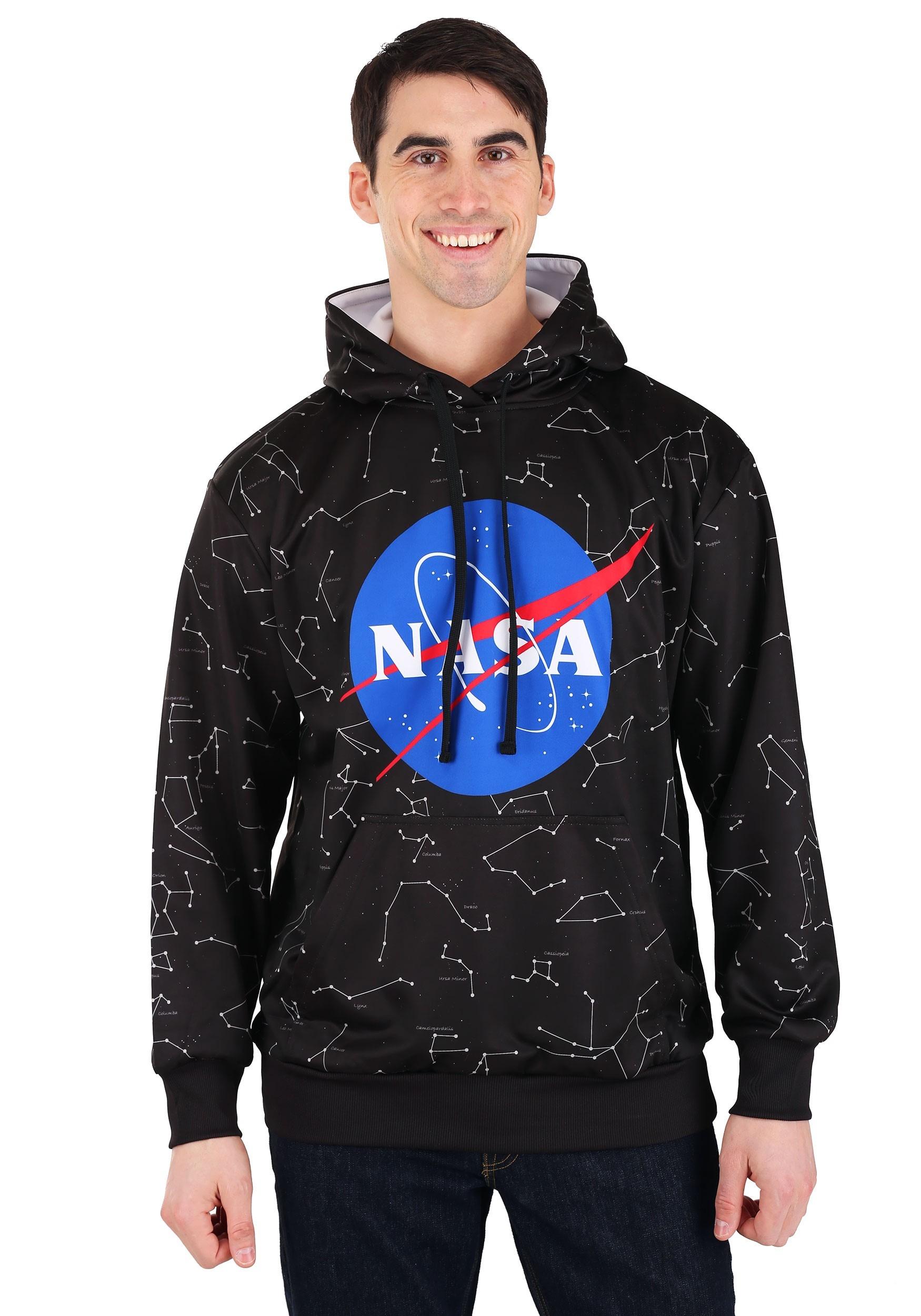 NASA Constellations Men's Hooded Pullover Sweatshirt