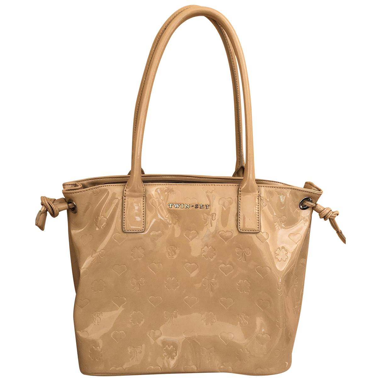Twin Set \N Beige handbag for Women \N