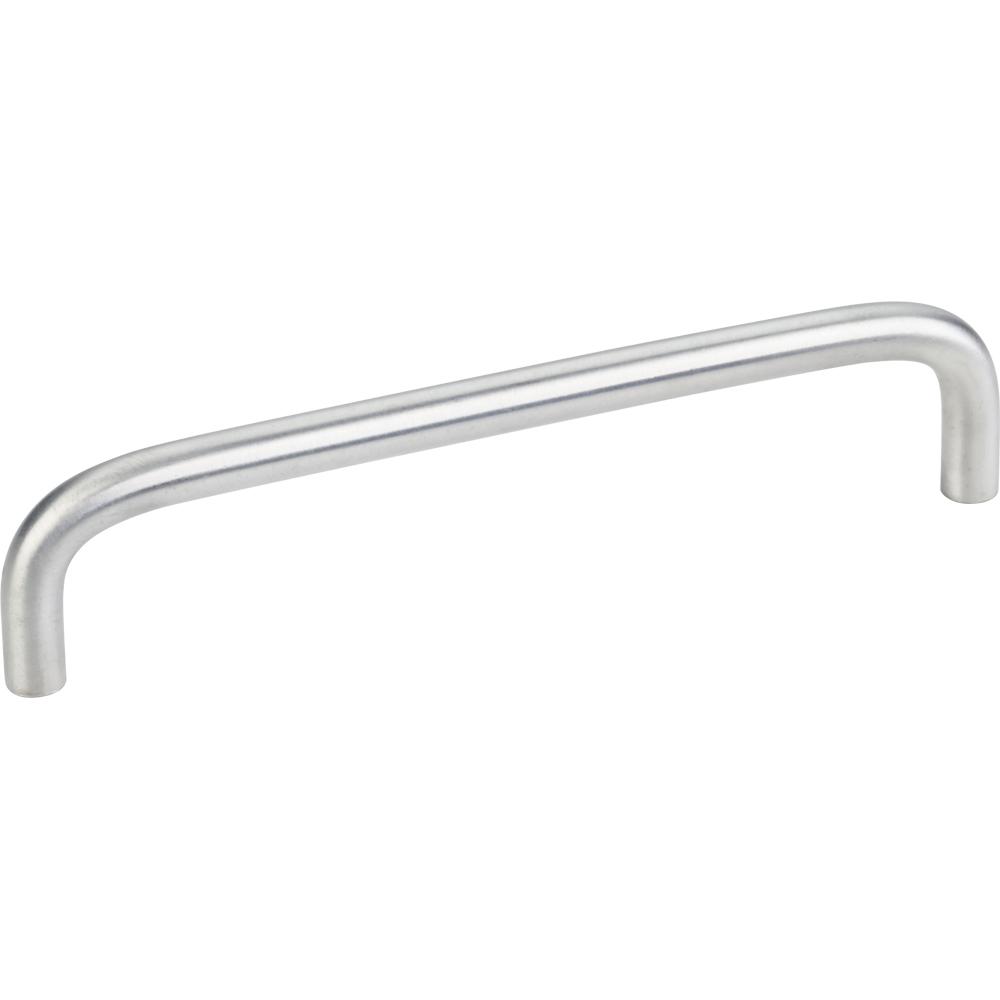 Torino Wire Pull, 128 mm C/C, Brushed Chrome