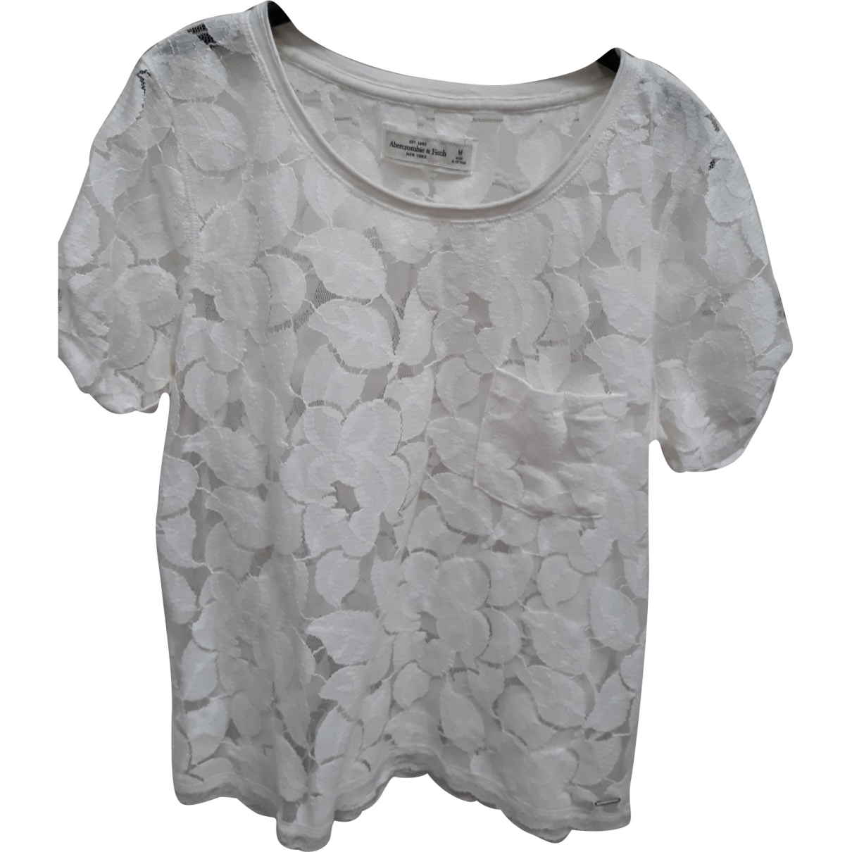Abercrombie & Fitch \N Top in  Weiss Viskose