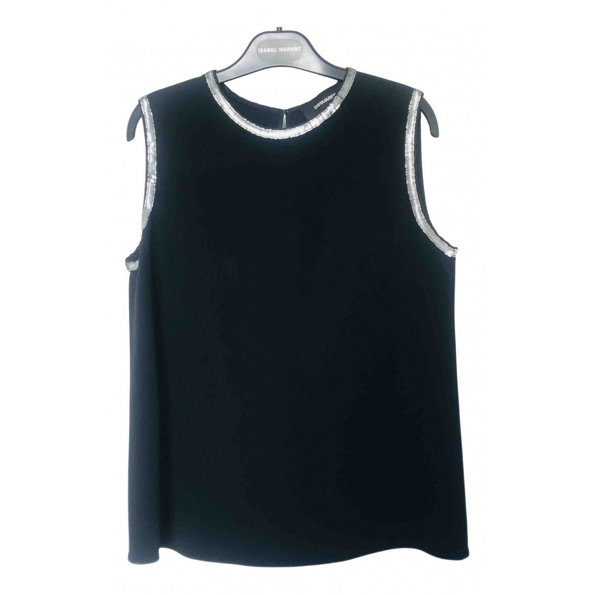 Dsquared2 N Black  top for Women 40 IT