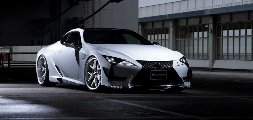 Wald USA LC500.GC.17 Sports Line Grill Cover Lexus LC500 16-18