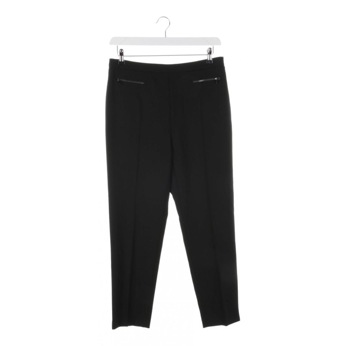Max Mara \N Black Trousers for Women 42 FR