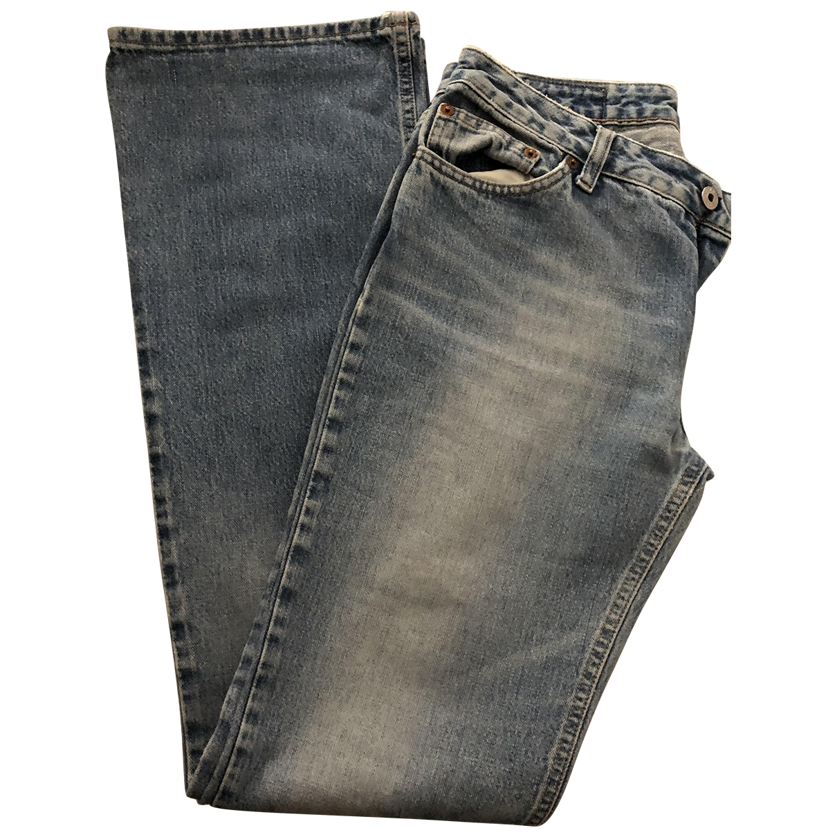 Replay \N Navy Denim - Jeans Jeans for Women 29 US
