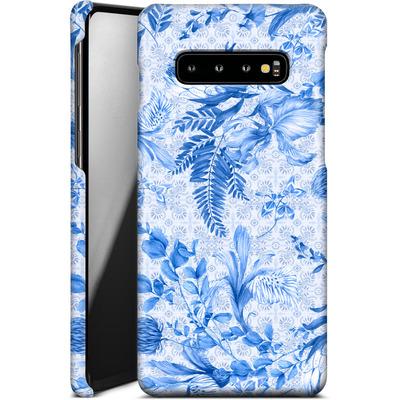 Samsung Galaxy S10 Plus Smartphone Huelle - Santorini Breeze von Stephanie Breeze