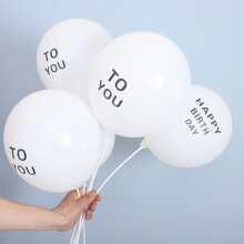 20pcs Letter Graphic Balloon