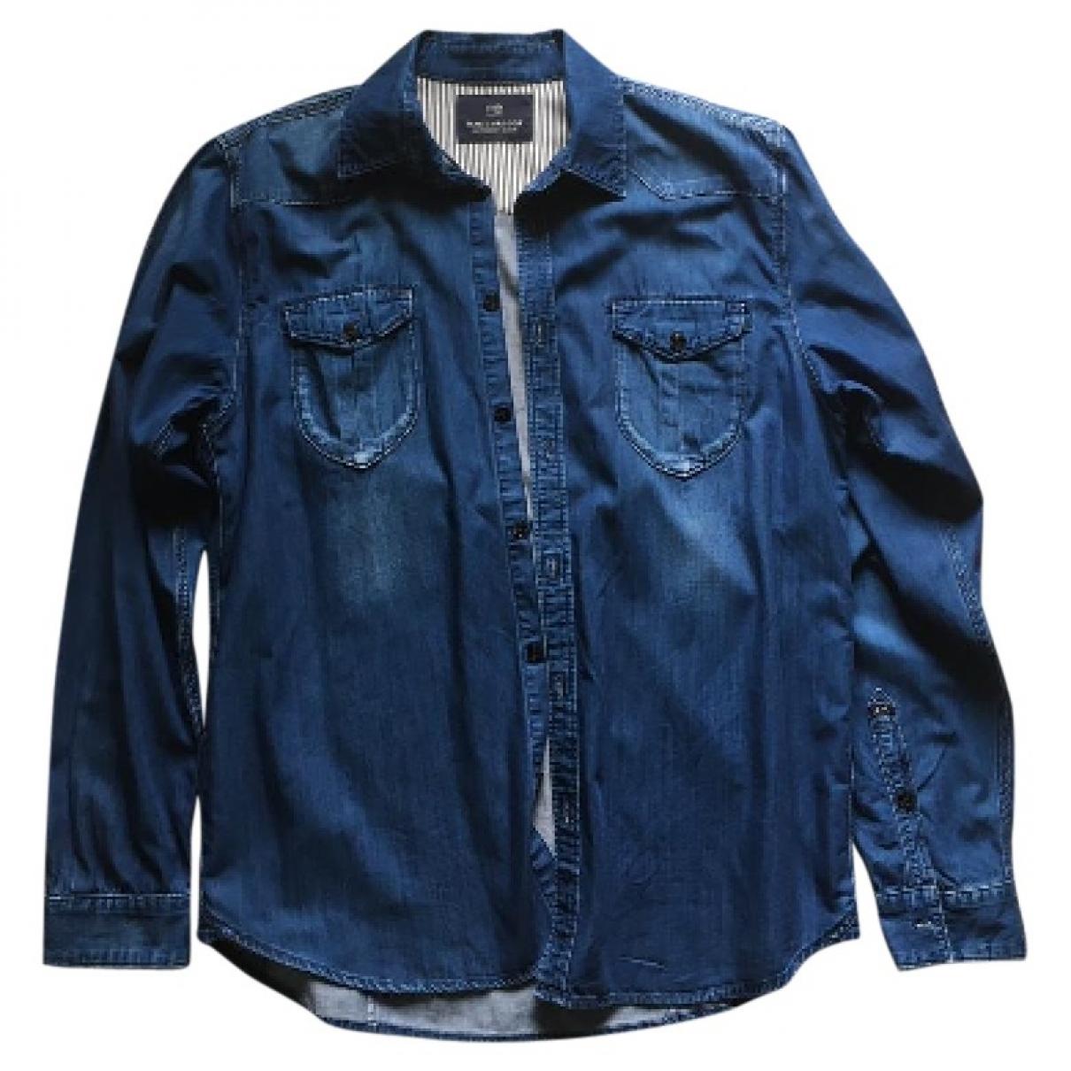 Scotch & Soda - Chemises   pour homme en denim - bleu
