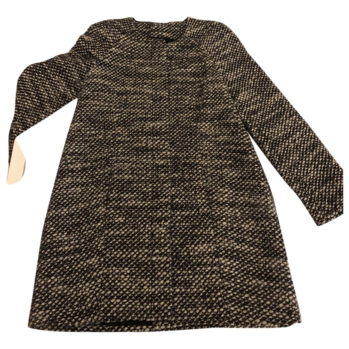 Patrizia Pepe - Manteau   pour femme en laine - noir