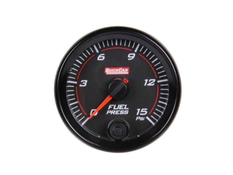 Quickcar Racing Products Redline Gauge Fuel Pressure