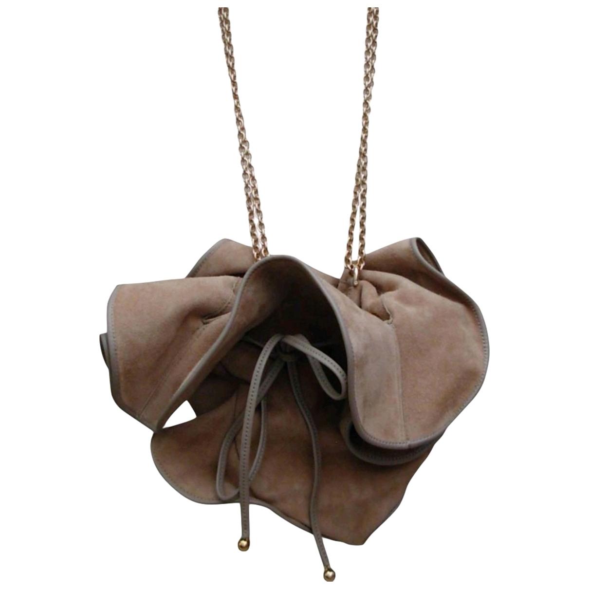 Nina Ricci \N Beige Suede handbag for Women \N