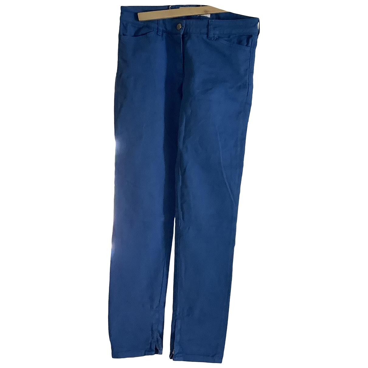 Golden Goose - Jean   pour femme en coton - elasthane - bleu