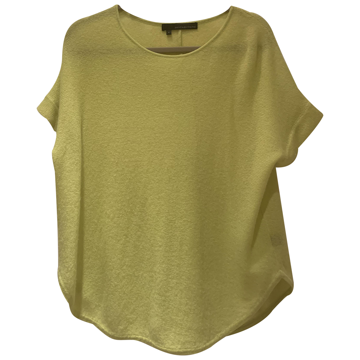 360 Cashmere N Yellow Cashmere Knitwear for Women S International