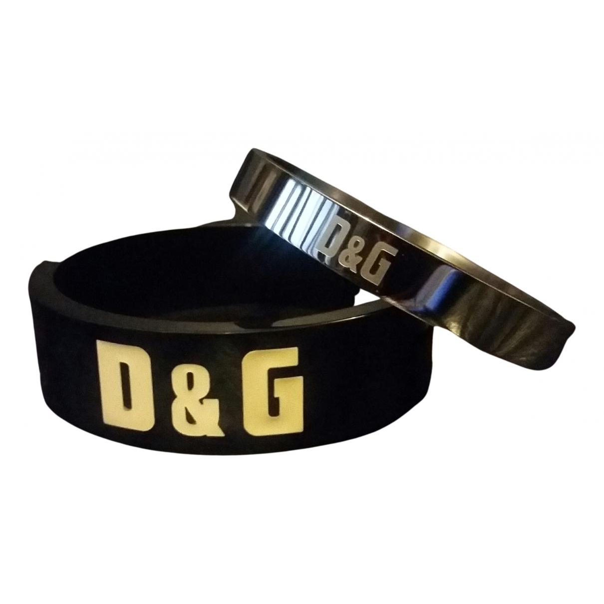 D&g - Bracelet   pour femme en acier - noir