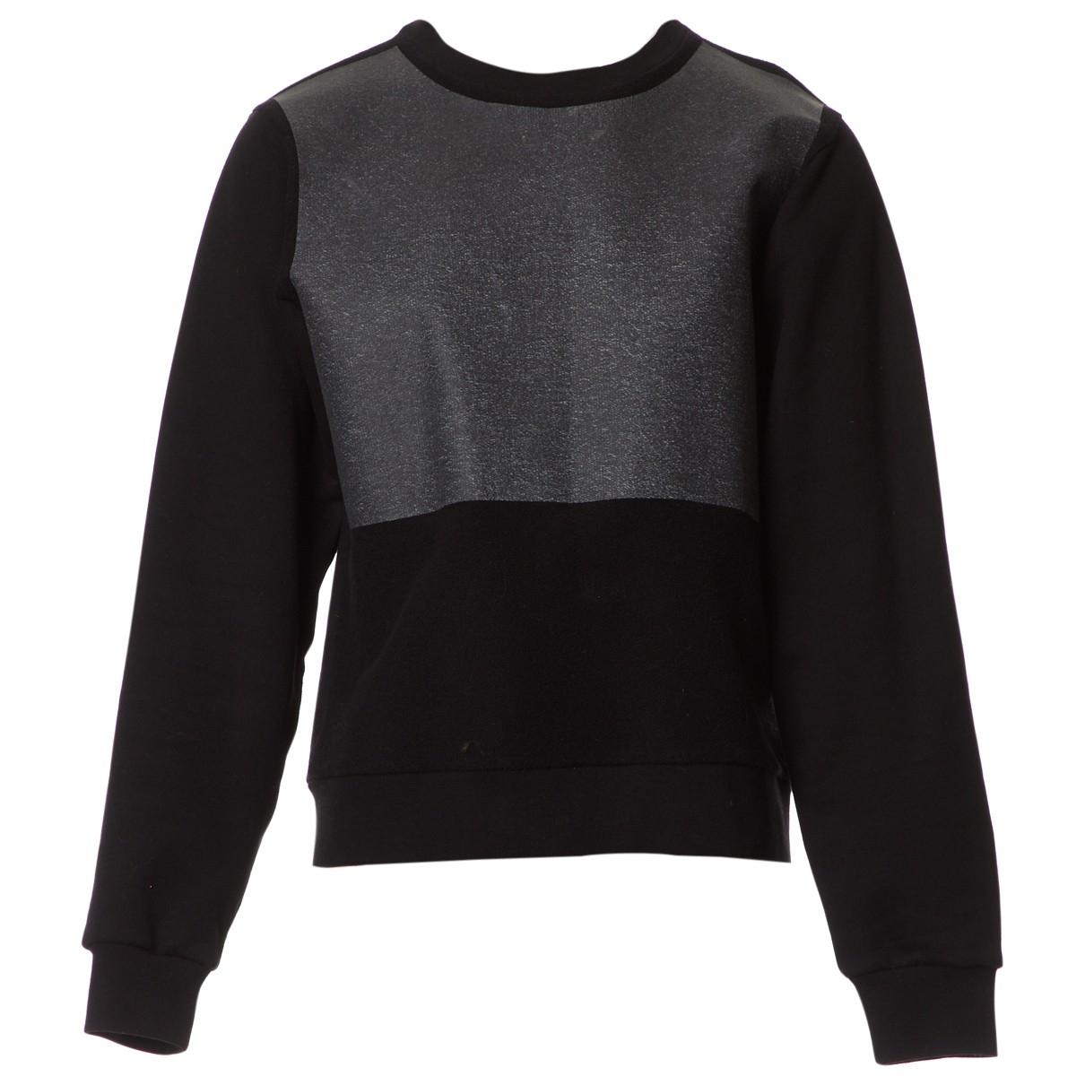 Balenciaga - Pull   pour femme en coton - noir