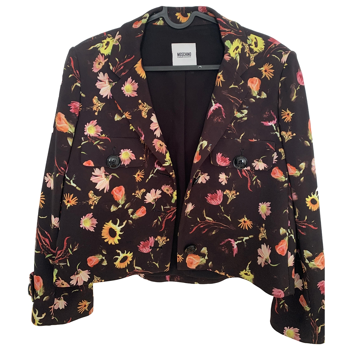 Moschino Cheap And Chic \N Multicolour Cotton coat for Women 44 IT