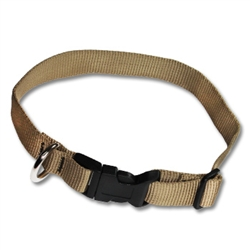 Adjustable Pet Collars 3/4in in Heavyweight Polypro