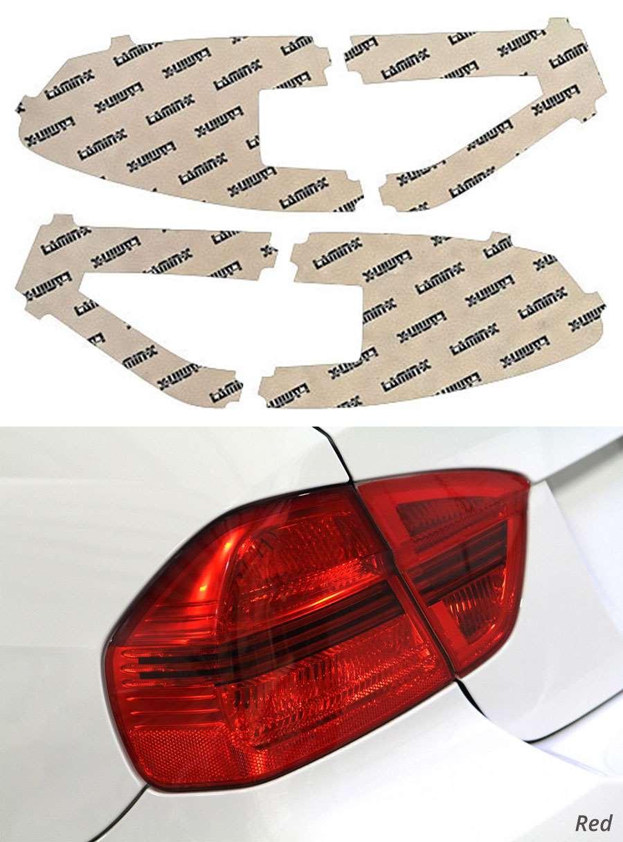Subaru WRX | STI Wagon 08-14 Custom Red Tail Light Covers Lamin-X S316-1R