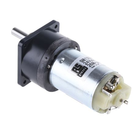 RS PRO , 24 V dc, 70 mNm, Brushed DC Geared Motor, Output Speed 260 rpm