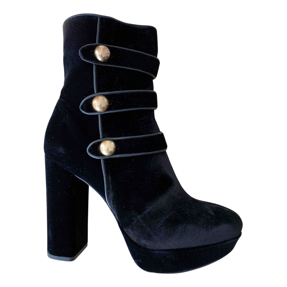 Michael Kors \N Black Suede Ankle boots for Women 37 EU