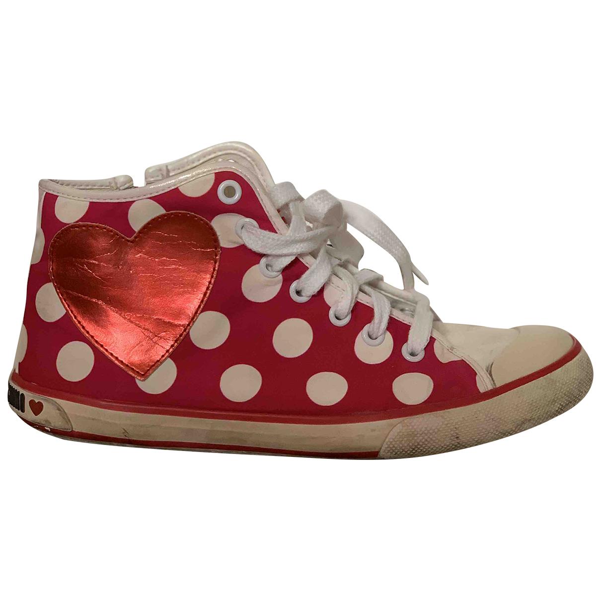 Moschino Love \N Sneakers in  Bunt Leinen