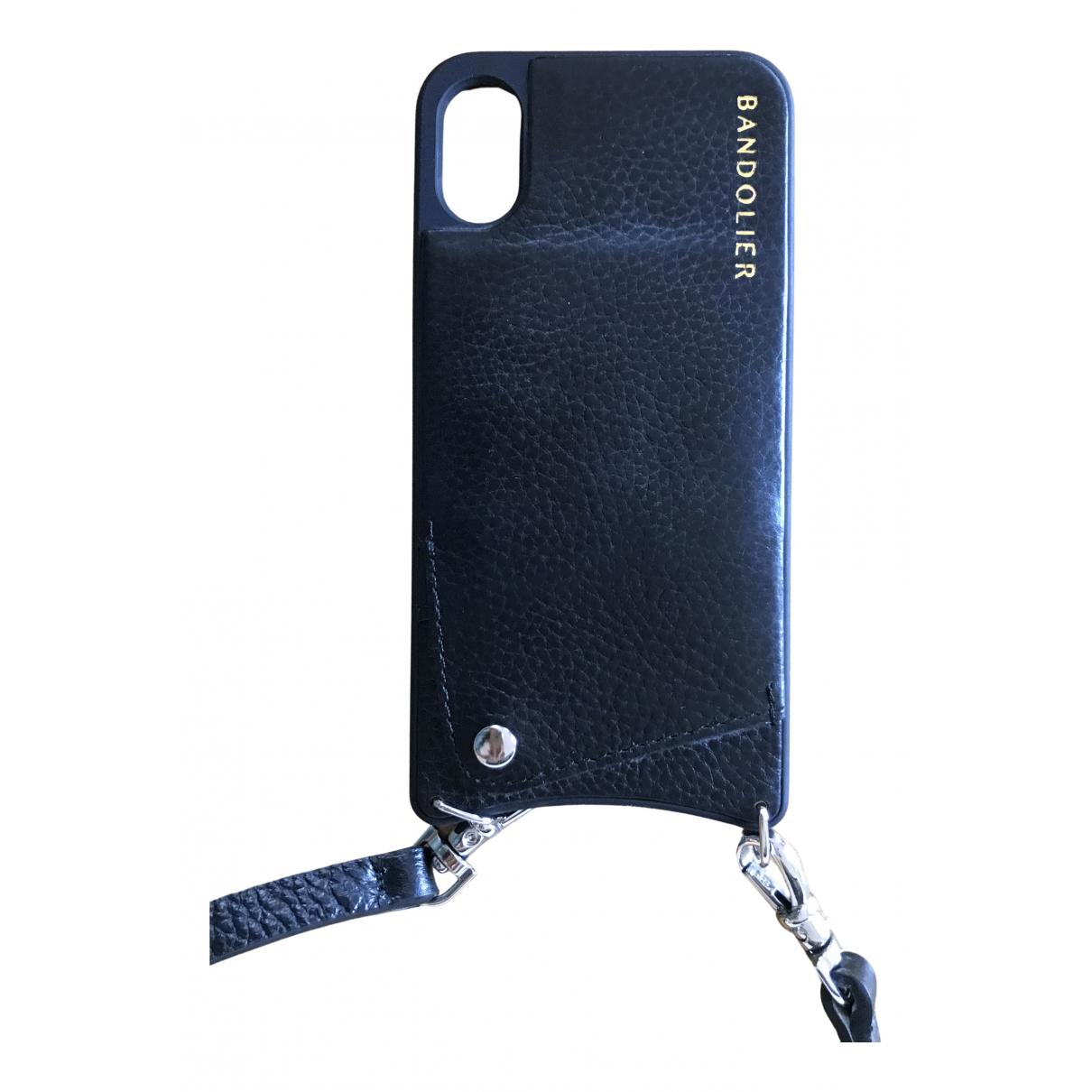 - Accessoires   pour lifestyle en cuir - noir
