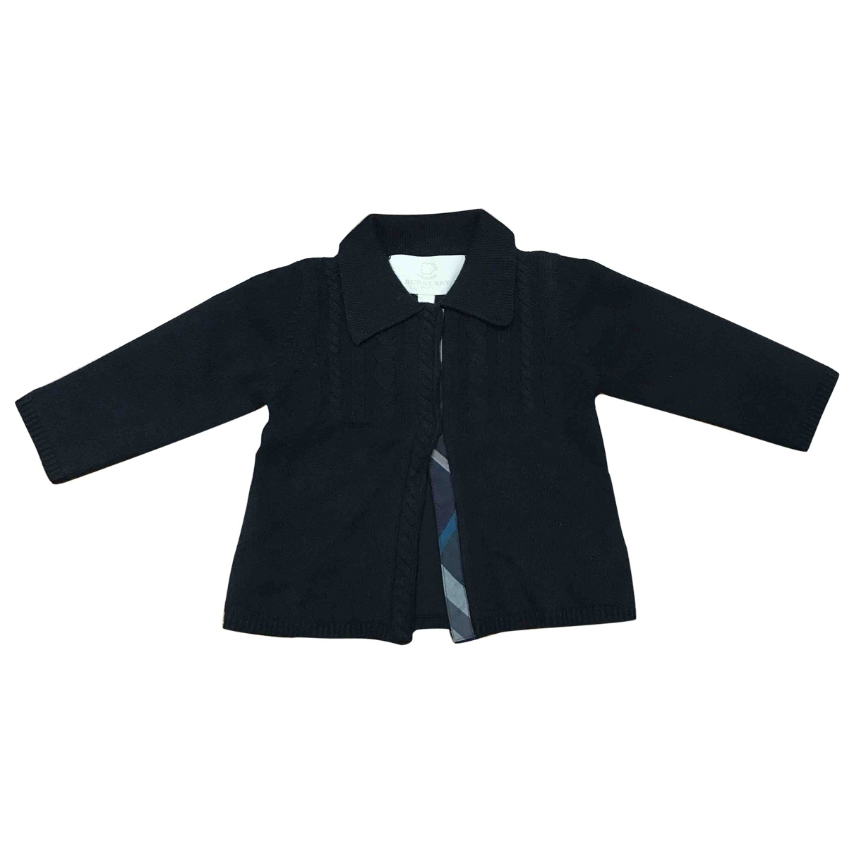 Burberry \N Blue Wool Knitwear for Kids 12 months - until 29 inches UK