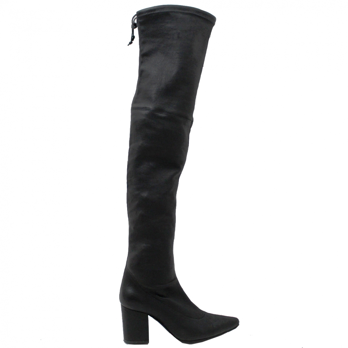 Anine Bing \N Black Leather Boots for Women 36 EU