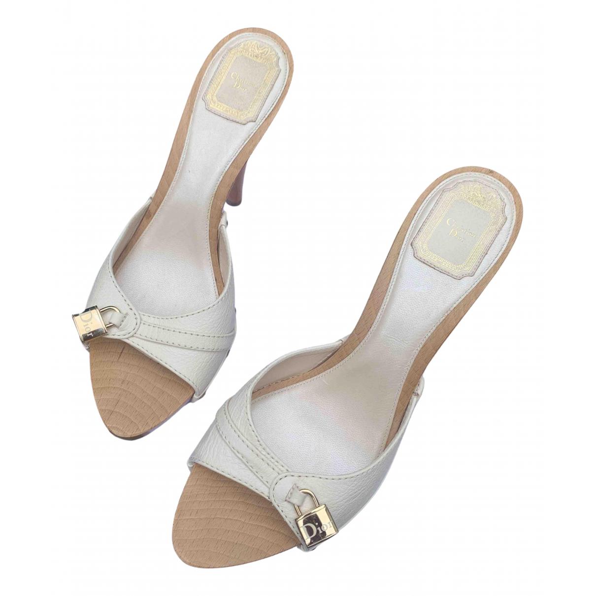 Dior - Escarpins Cest Dior pour femme en cuir - blanc