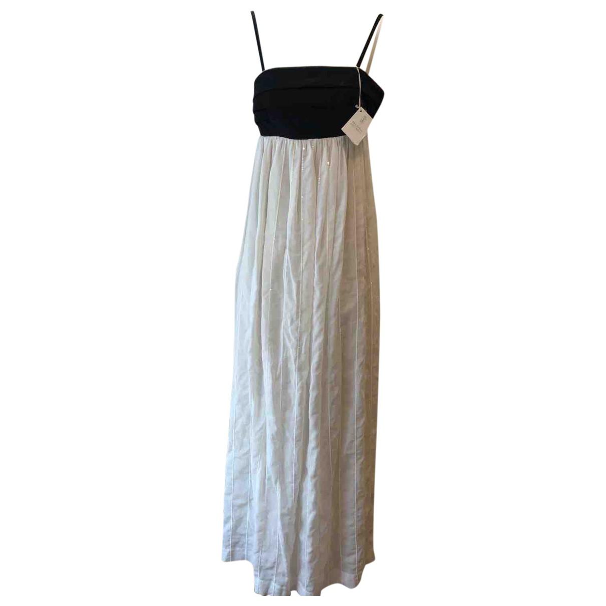 Brunello Cucinelli \N Kleid in  Beige Seide