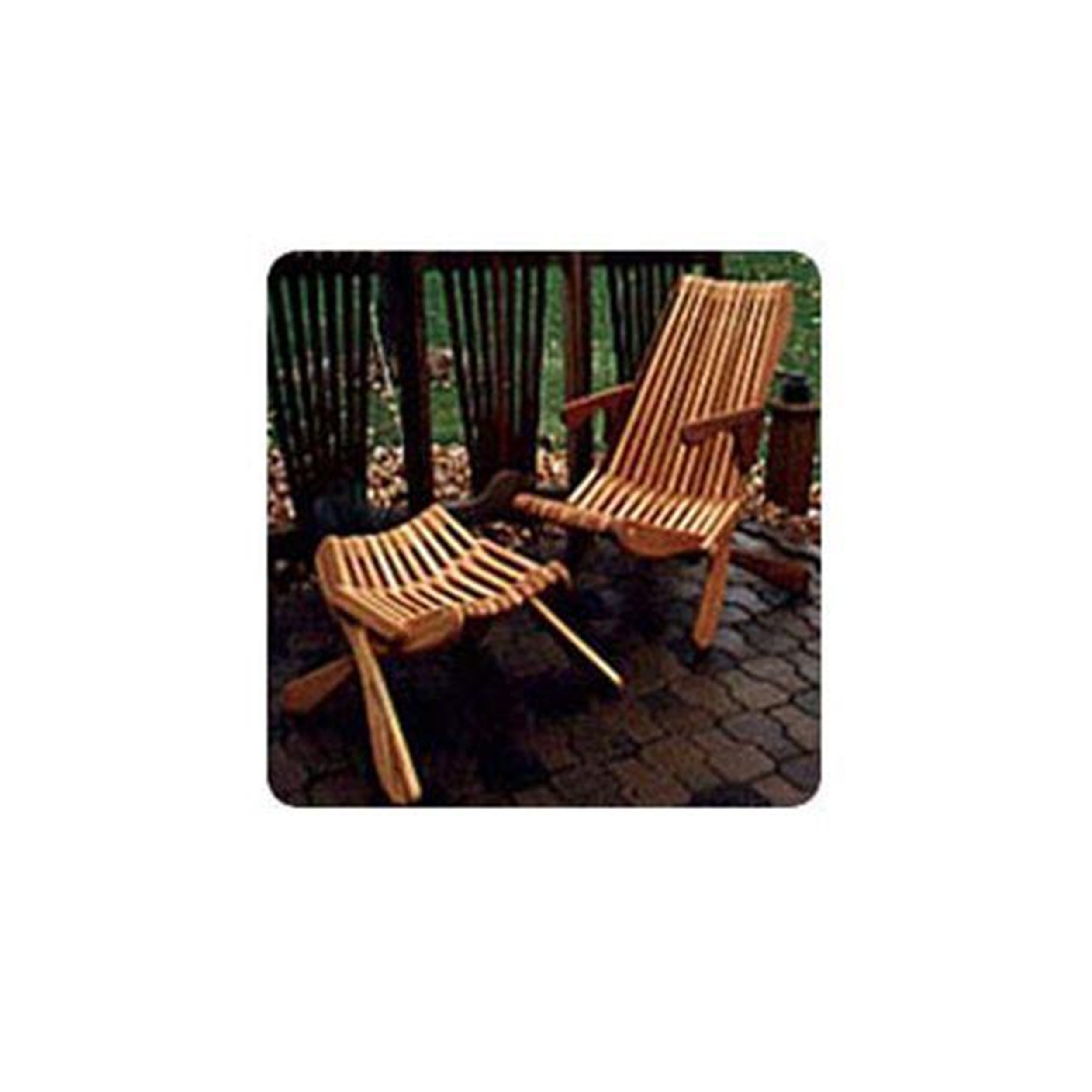 Woodworking Project Paper Plan to Build Smooth Folding Lawn Chair