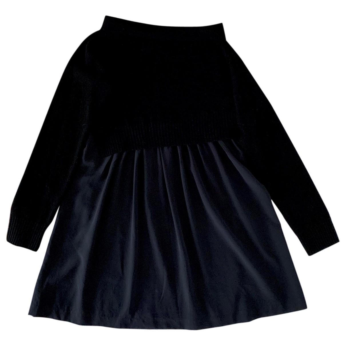Joseph - Jupe   pour femme en cachemire - noir