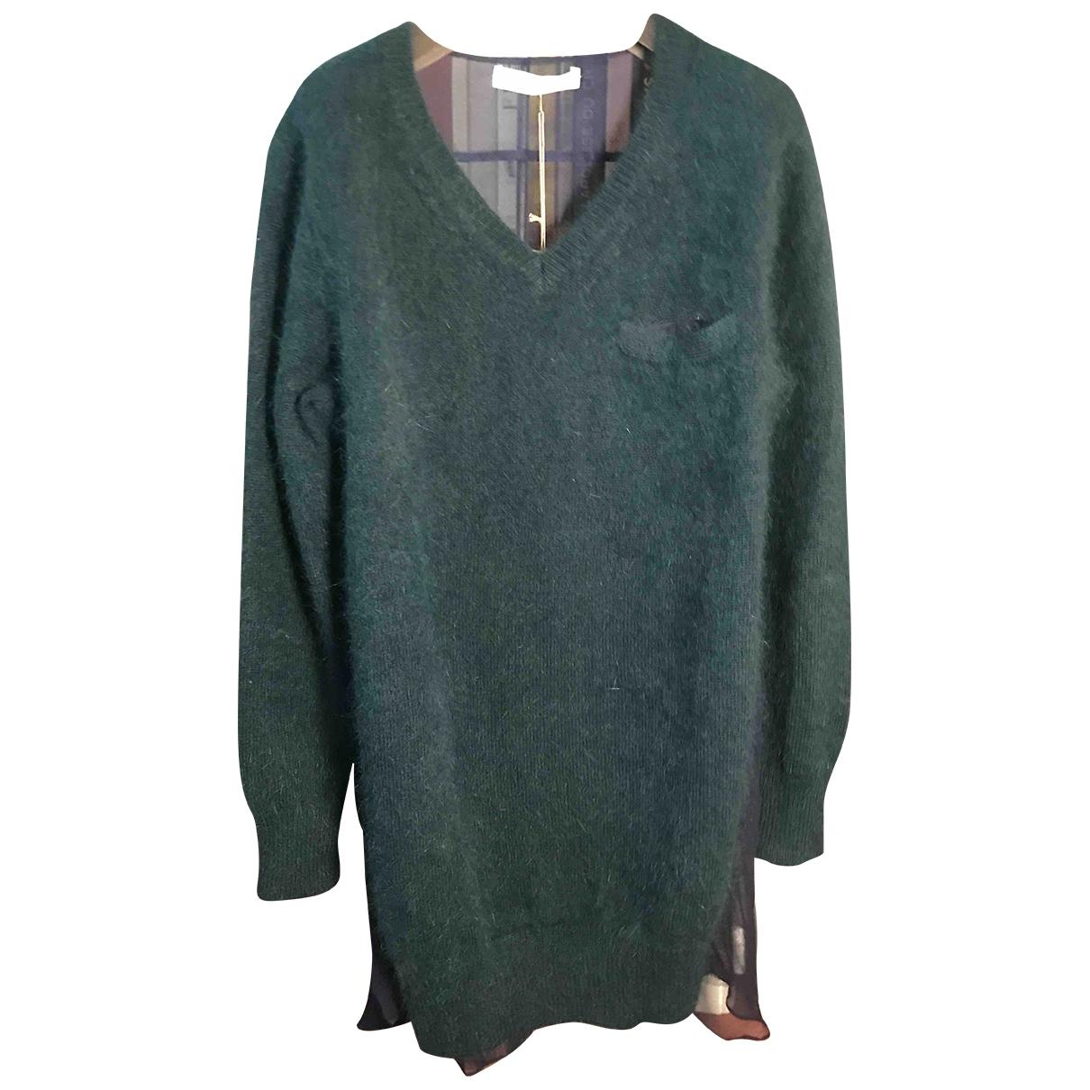 Sacai Luck \N Green Wool Knitwear for Women 1 0-5