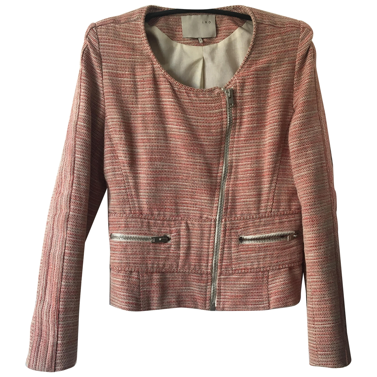 Iro \N Red Cotton jacket for Women 2 0-5