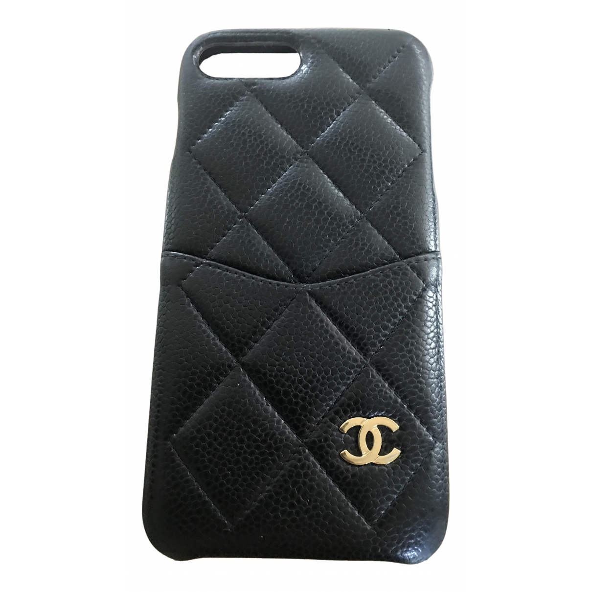 Funda iphone de Cuero Chanel