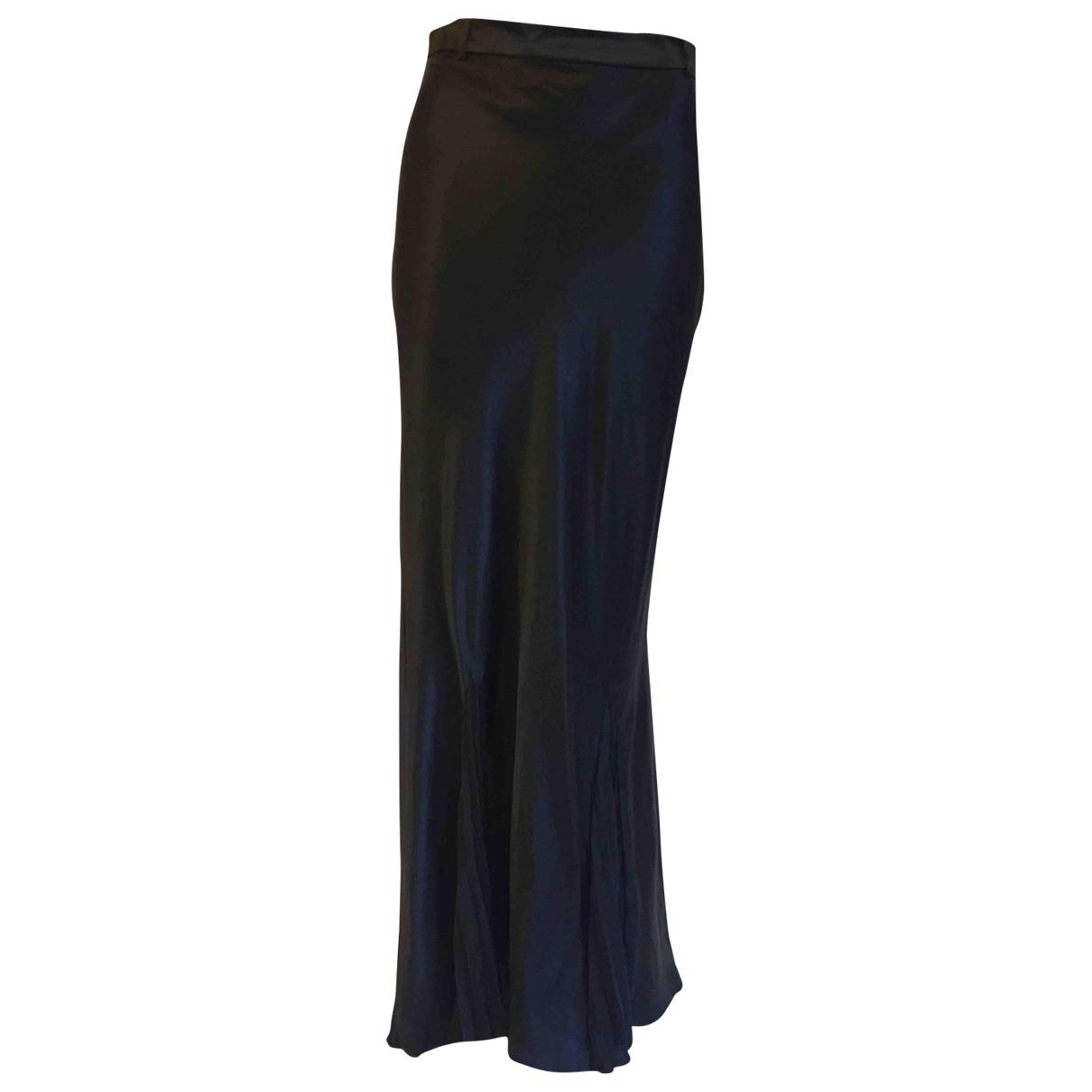 H&m Studio - Jupe   pour femme en soie - noir