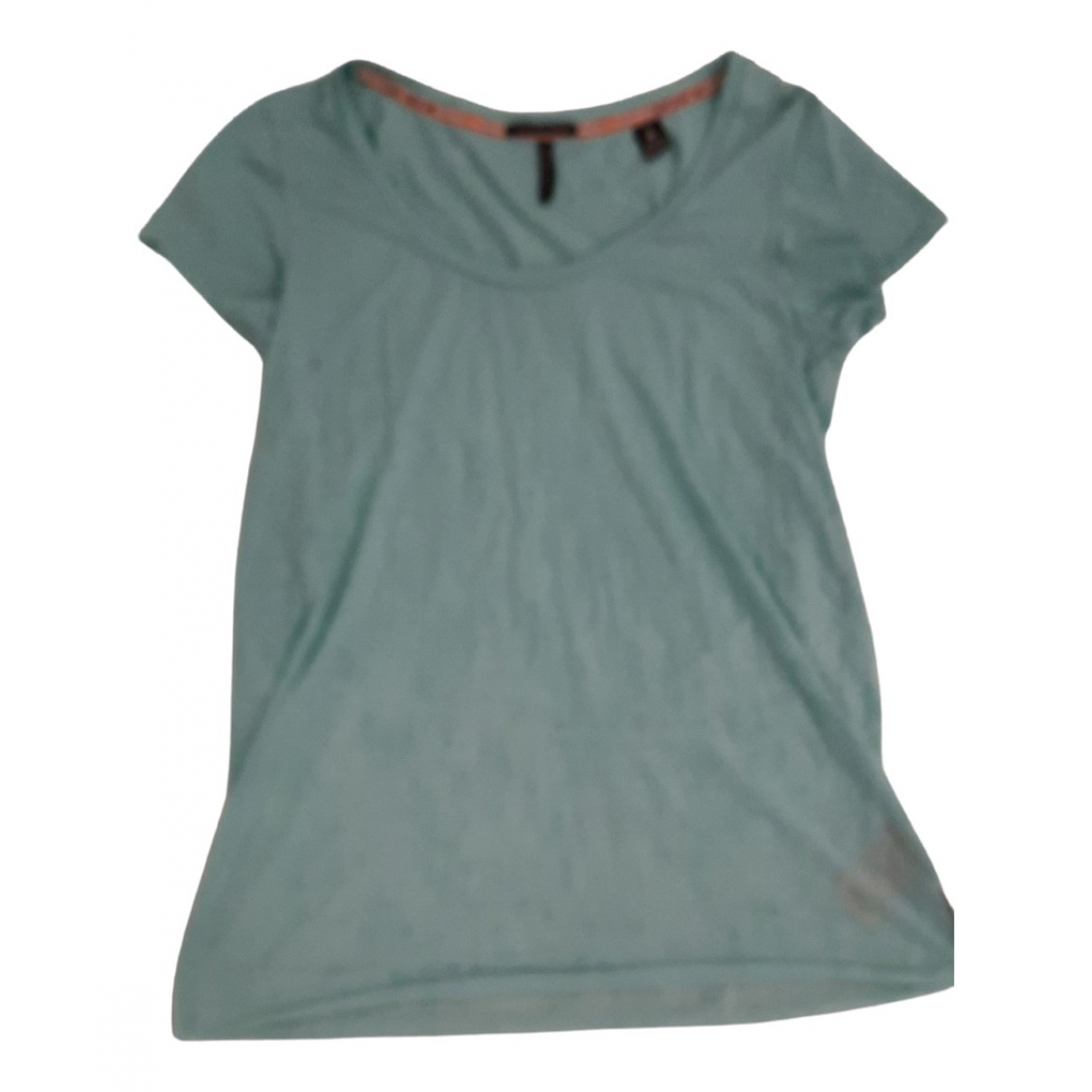 Maison Scotch - Top   pour femme en coton - turquoise