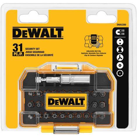 DeWalt 31-Piece Security Set