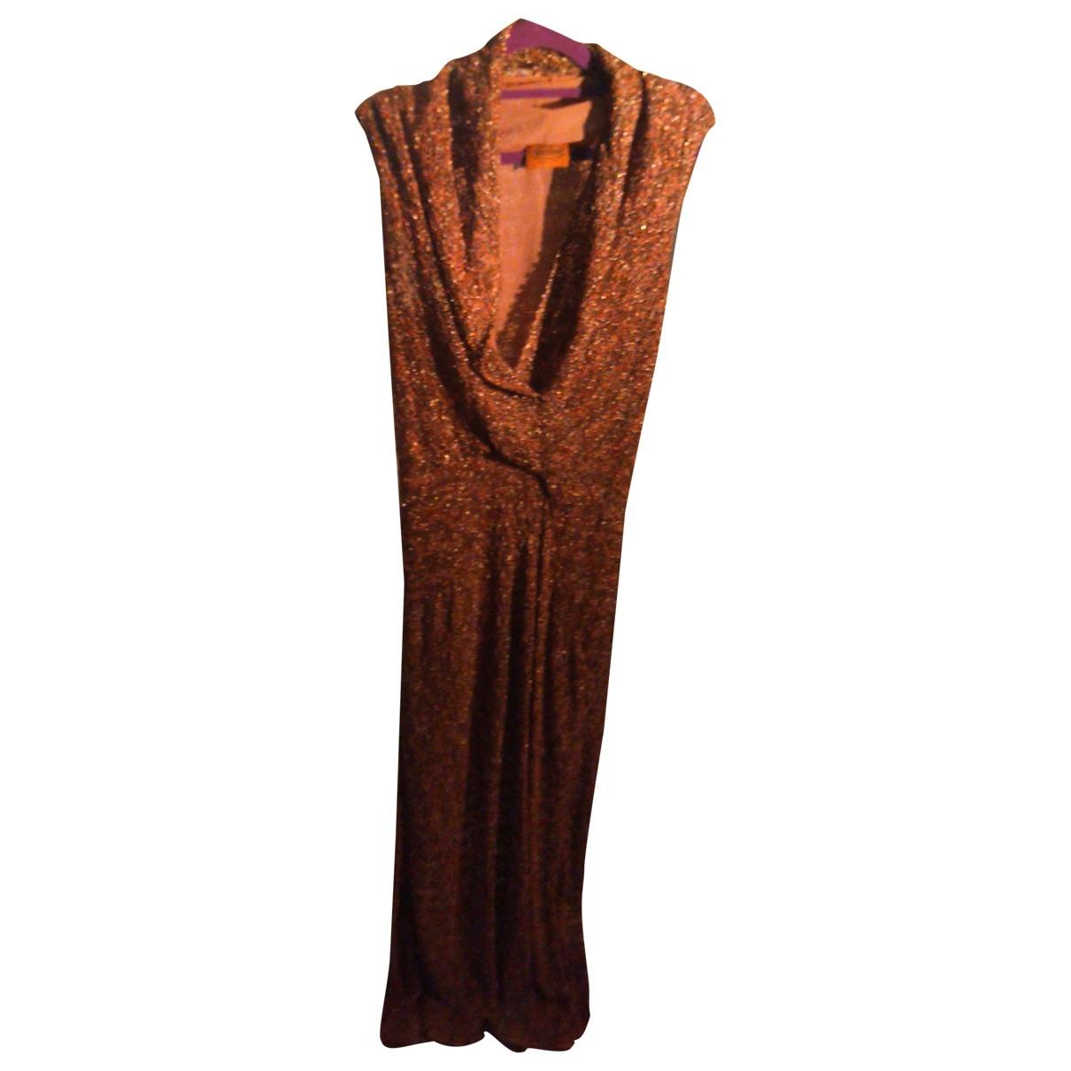 Missoni \N Kleid in  Braun Wolle