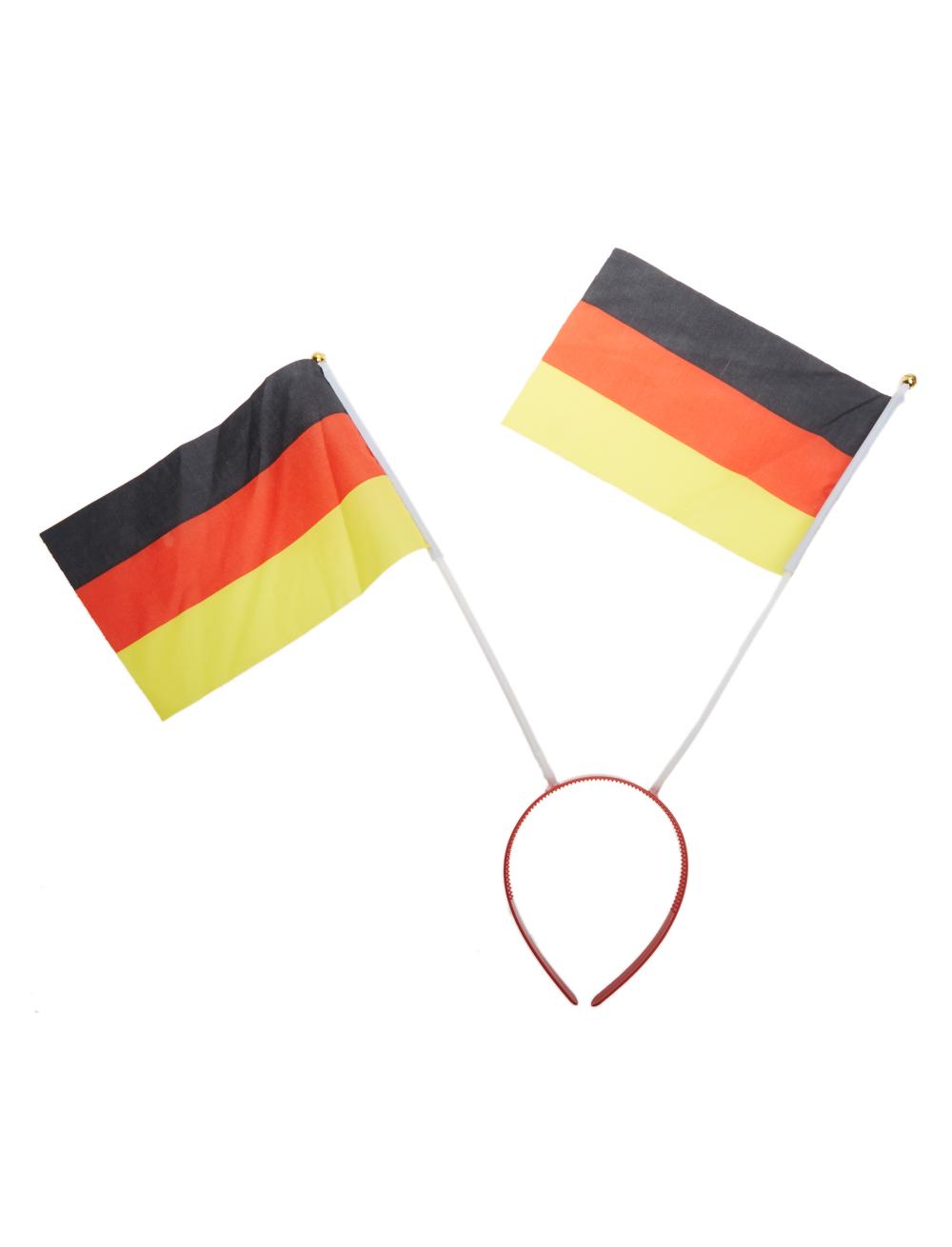 Haarreif Deutschland Flagge Farbe: schwarz/rot/gold